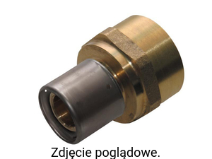 "Złączka z GW 40x3,5 G1 1/2"" (press) KAN 1009044009"